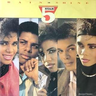 "12"" Single: Five Star- Rain or Shine (Vinyl Record)"
