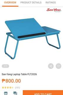 Laptop Table Used Once