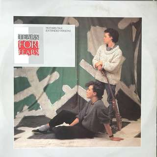 "12"" Single: Tears For Fears- Mother's Talk (Vinyl Record)"