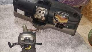 Dashbord passo 06 jual skali rpm colum shift gear