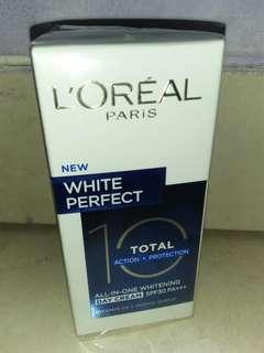 Loreal White Perfect Total 10 Whitening Day Cream