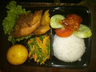 Nasi Bungkus Bento