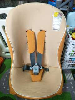 🚚 COMBI  coccoro s 輕量型安穩安全座椅 汽座 0~4歲 甜橙橘🍊 送親親多功能助步車