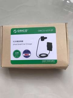 Orico 5-port smart car charger