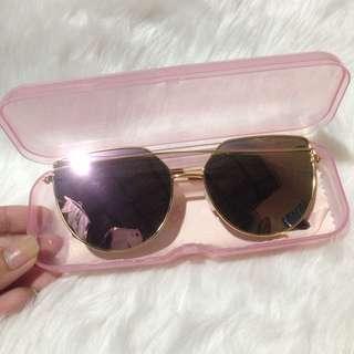 Rosegold Mirror Lens Sunnies