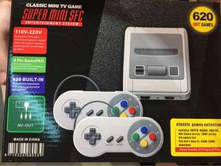 Snes retro game console