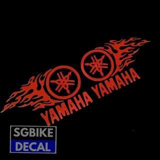 Yamaha Flame Reflective