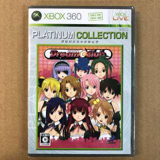 XBOX 360 DREAM CLUB (PLATINUM )-JP     XBOX 360 美夢俱樂部 (白金版)-日版