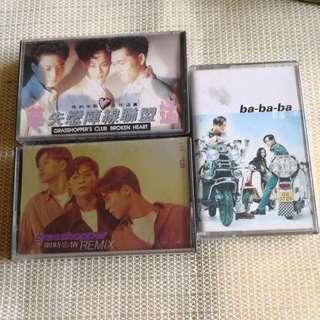 3 cassette 草蜢