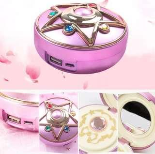 美少女戰士充電器8000MAH +鏡盒