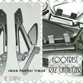 FOOTREST RXZ CATALYZER MADE IN MALAYSIA RM70 1SET