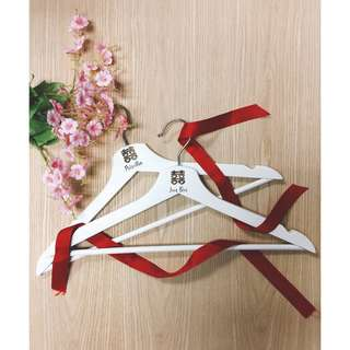 WEDDING GOWN AND SUIT HANGER