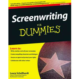 Screenwriting For Dummies (364 Page Mega eBook)