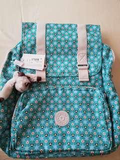 Orig-Kipling Backpack  Clover Teal