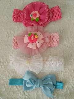 Cute baby headband set