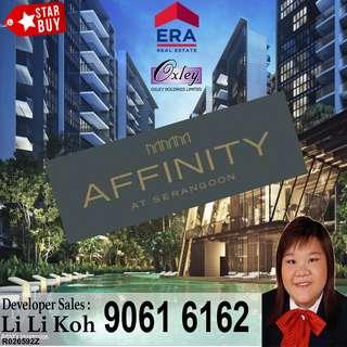 Affinity At Serangoon -> 4 Bedroom Lowest Price!