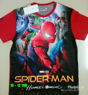 KAOS ANAK SPIDERMAN