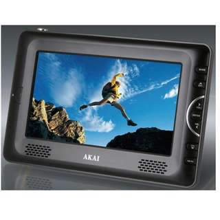 "AKAI 7"" HD LCD Digital TV with Portable multimedia player - NEW ( SKPT70i ) 1080P"