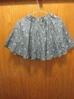 🚚 花花短褲裙