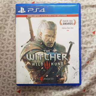 BD PS4 The Witcher 3 Reg 3