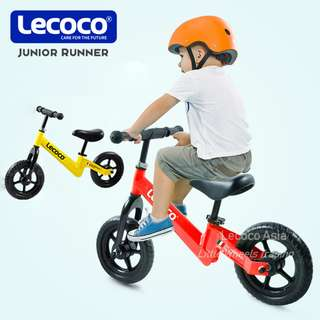Authentic Lecoco Gatin Junior Runner Kids Balance Bike push bike - 2~4 years old