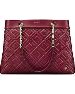 Tory Burch Fleming triple-compartment