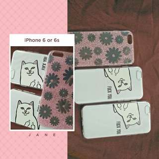 iPhone 6 or 6s case 3PCS bundle
