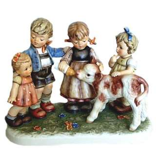 "Goebel Hummel Figurine ""Farm Days"" #2165 TMK 7"