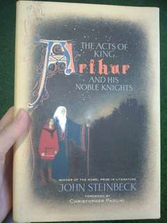 John Steinbeck Hardcover Acts of King Arthur and His Noble Knights