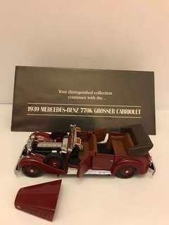 Mercedes Benz 770K Grosser Cabriolet 1:24