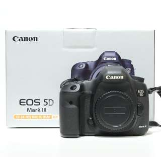 Canon EOS 5D Mark III Body Only (SC 32K)