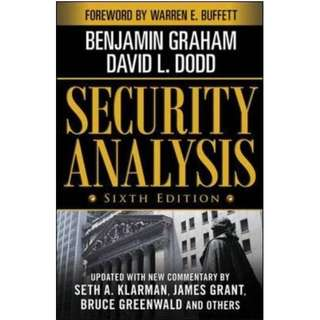 Security Analysis: The Classic 1934 Edition (By Benjamin Graham, David Dodd) (739 Page Mega eBook)