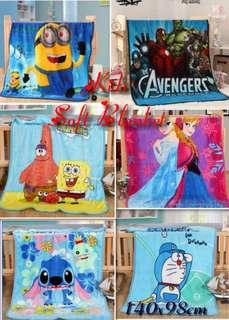 Kids Cartoon Character Blanket