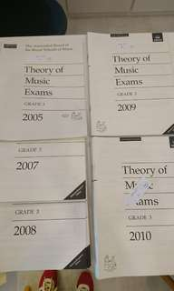 ABRSM GRADE 3 theory past year exam papers