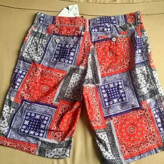 Back Number shorts Made in Japan retails for P2k plus