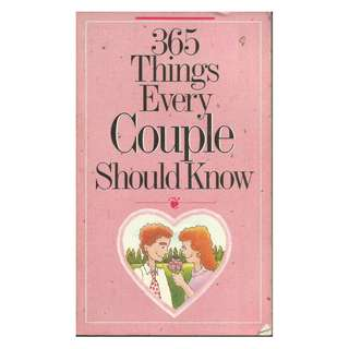 Doug Fields - 365 Things Every Couple Should Know