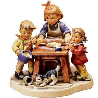 "Goebel Hummel Figurine ""Baker's Delight"" #2162 TMK 8"