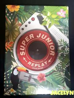 Super Junior album REPLAY limited edition