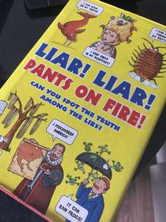 Liar Liar Joke book