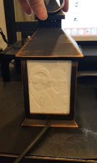 Personalized 3d printed Lithophane lamp