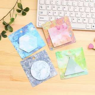Colourful Shapes Sticky Notes [PO]