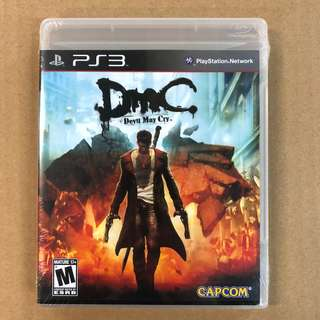 PS3 DEVIL MAY CRY DMC -US     PS3 惡魔獵人 DMC-美版