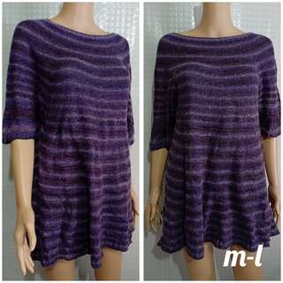 Violet Shade Pullie Blouse