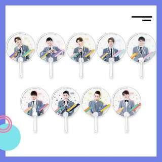 NINE PERCENT Transparent Fan