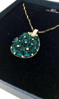 Swarovski Blue Necklace