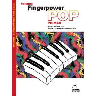 SCHAUM - FINGERPOWER POP, PRIMER