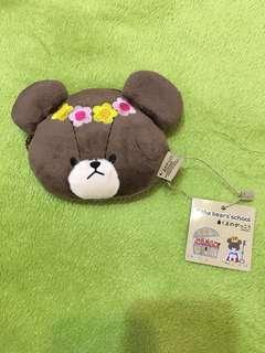 The school bear Jackie 零錢包