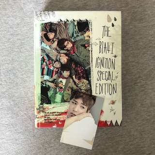 B1A4 Ignition Special Edition Album (Baro photocard)