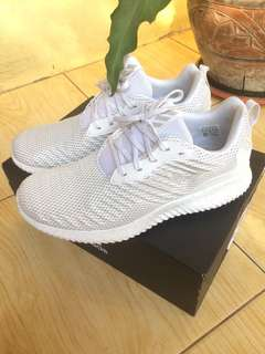 adidas alphabounce sneakers white 100%original
