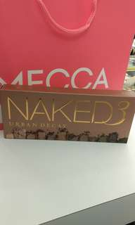 Brand New Naked 3 Eyeshadow Palette